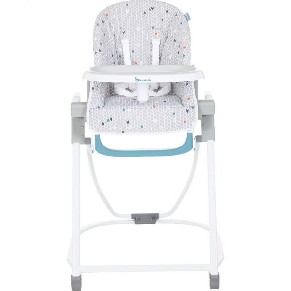Stokke kit baby set pour chaise haute tripp trapp brume for Chaise haute tripp trapp grise