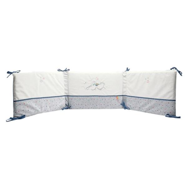 moulin roty tour de lit complet les jolis pas beaux made in b b. Black Bedroom Furniture Sets. Home Design Ideas