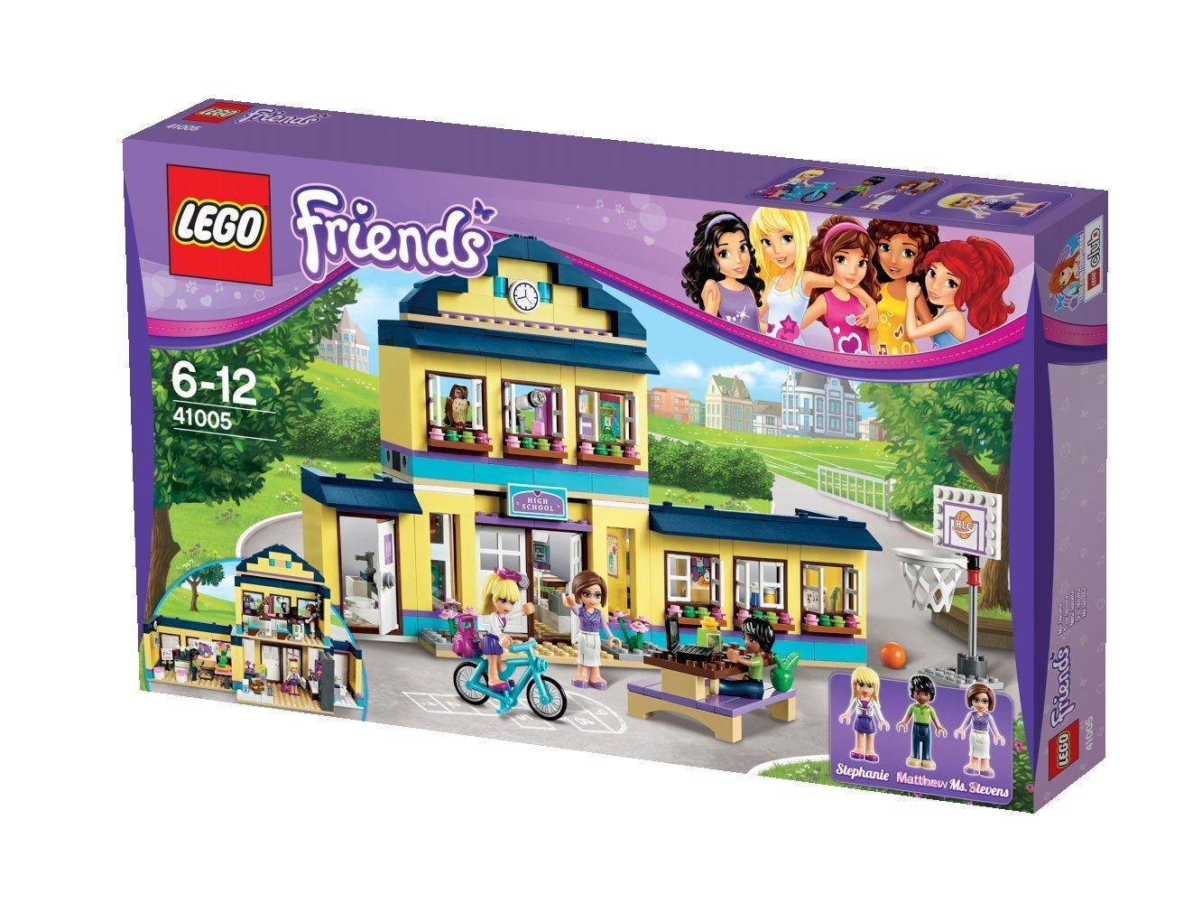 Lego friends 41005 l 39 cole de heartlake city - Lego friends l ecole ...