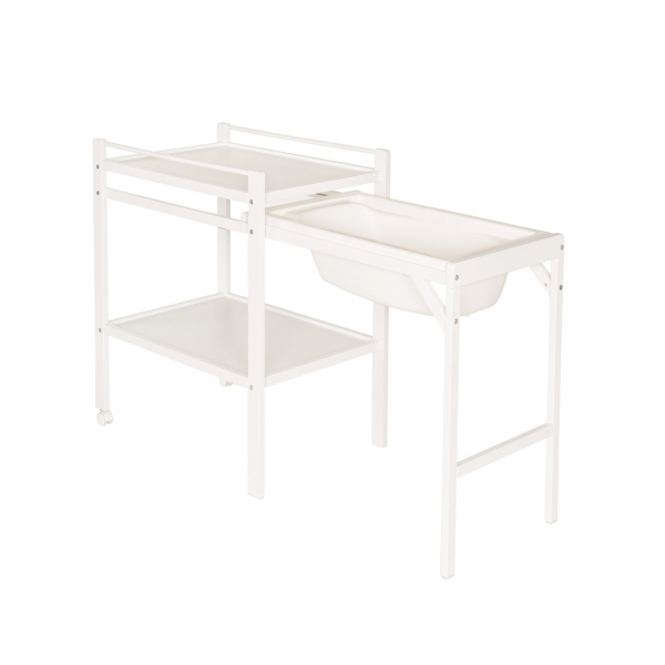 Combelle table langer pliante jade made in b b - Baignoire table a langer pliante ...