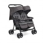 Poussette double Aire Twin Dark Pewter
