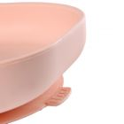 Assiette silicone ventouse light pink