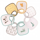 Lot de 7 bavoirs naissance Oursigami
