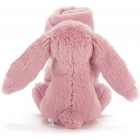 Doudou Lapin Blossom soother - rose - 33 cm