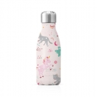 Bouteille metal 260ml - Licorne