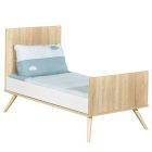 Chambre Duo Lit Little Big Bed 70x140 + Commode Seventies Bois
