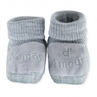 Chaussons maman d'amour gris