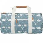 Sac week end Baleine bleue