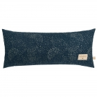 Coussin Hardy gold bubble / night blue