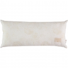 Coussin Hardy gold bubble / white