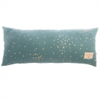 Coussin coton bio Hardy magic Green