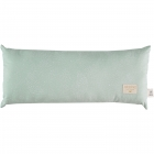 Coussin Hardy white bubble / aqua