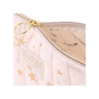 Trousse de toilette Holiday 18 cm Gold stella pink
