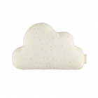 Coussin nuage coton bio honey sweet dots