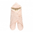 Couverture nomade Kiss me Gold stella dream pink