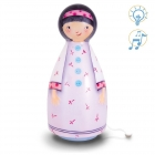 Lampe Musicale Gamine Parme