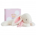 Grand doudou Lapin Bonbon Rose