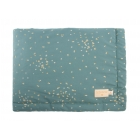 Couverture bébé Laponia 70 cm confetti magic green