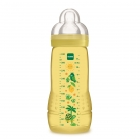 Biberon easy active 330 ml coloré jaune