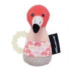 Anneau de dentition maracas Flamingos le Flamant Rose