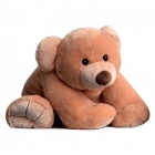 Grand Ours en peluche Gros'ours miel