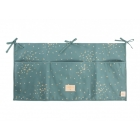 Pochette de lit bébé Merlin confetti magic green