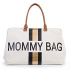 Sac à langer Mommy Bag Canvas blanc et or