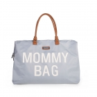 Sac à langer Mommy Bag gris et blanc