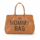 Sac à langer Mommy Bag Simili cuir brun