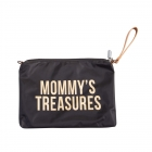 Pochette Mommy's Treasure noire et or