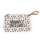 Pochette Mommy's Treasure canvas léopard