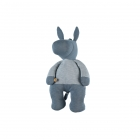 Peluche medium Paco bleu