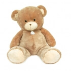 Peluche Ours Bellydou Champagne 110 cm