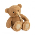 Peluche Ours Charms Marron Clair 40 cm