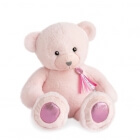 Peluche Ours Charms Rose Sorbet 40 cm