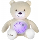 Ourson Projecteur Baby Bear Beige First Dreams