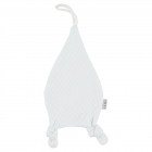 Doudou Attache-sucette Diamond Blanc