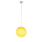 Suspension luminaire simple globe S jaune