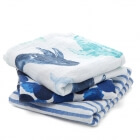 Lot de 3 langes musy Seafaring