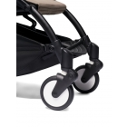 Pack poussette Trio YOYO² complet pack 0+ &  6+ + siège auto YOYO car seat by Besafe + Ombrelle - Châssis Noir - Taupe