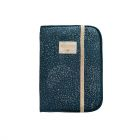 Protège carnet de santé Poema gold bubble night blue