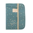 Protège carnet de santé Poema confetti magic green