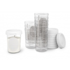 Lot de 10 pots de conservation