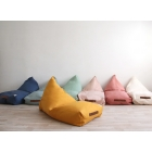Pouf Oasis Provence green