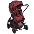 Pack duo poussette HELLO 2 en1 - red chic