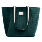 Sac maternité Savanna velvet green