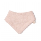 Bavoir bandana So cute coton bio rose
