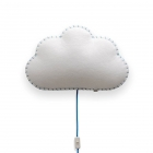 Applique murale Soft Light nuage bleu