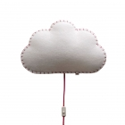 Applique murale Soft Light nuage rose