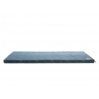 Matelas de sol coton bio St Barth bubble blue